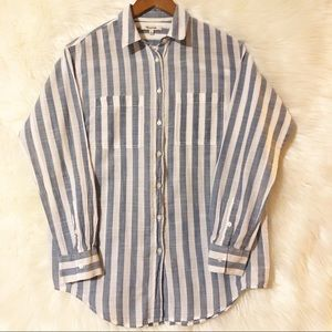 Madewell Striped Button Down Shirt